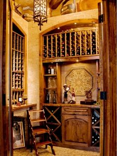 Wine cellar - Home and Garden Design Ideas