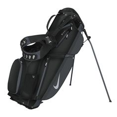 Black Grey Nike Ladies Men s Air Sport Carry Stand Golf Bag at ede853a1b365f