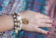 Bohemian+bracelet+set+Ammonite+Bracelet+set+от+MysteriousForests