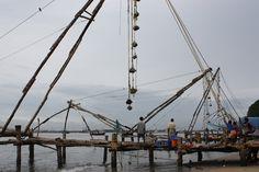 http://www.davidstours.com.au  Chinese Fishing nets Cochin