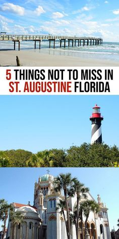 Top Things to do in St. Augustine Florida Top things to do in St Augustine Fl Florida Travel Guide, Florida Vacation, Florida Beaches, Vacation Spots, Vacation Ideas, Vacation Packing, St Augustine Florida Beach, Saint Augustine Beach, St Augustine Florida Restaurants