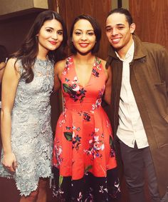 Phillipa Soo, Jasmine Cephas Jones, and Anthony Ramos