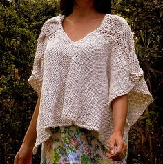 Loom Weaving, Hand Weaving, Sewing Patterns, Bell Sleeve Top, Tunic Tops, Knitting, Lace, Womens Fashion, Sweaters