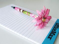 Flower Pen.... - Cleverly Inspired