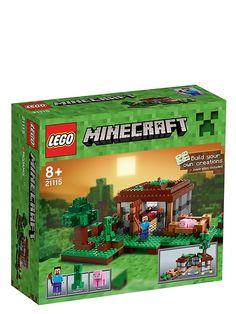 Lego Minecraft, Ensimmäinen yö
