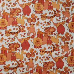 Childrens vintage wallpaper - 50 cm. on Etsy, $9.00