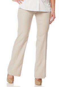 Secret Fit Belly(r) Bi-stretch Suiting Fit And Flare Maternity Pants