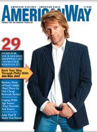 Jon Bon Jovi magizine colver american way