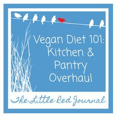 The Little Red Journal: Transitioning to Veganism: Kitchen Overhaul