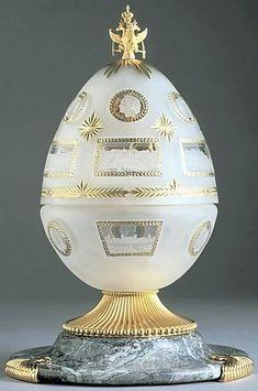 Faberge Eggs – Some Fabulous And Fantastic Facts About Them - Bored Art Tsar Nicolas Ii, Tsar Nicholas, Fabrege Eggs, Art Ancien, Imperial Russia, Egg Art, Egg Decorating, Russian Art, Saint Petersburg