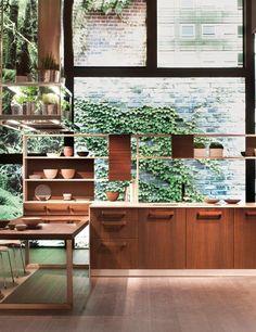 All-Wooden Kitchen