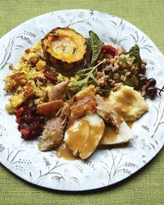Bountiful Thanksgiving - (Thanksgiving Menus, holiday recipes, appetizers, main course, side dishes and desserts)
