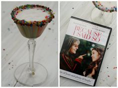 girlichef: Cake Batter Martini ...inspired by Because I Said So {food 'n flix}