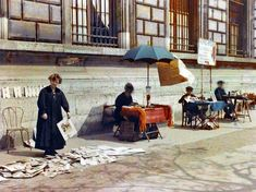 Back in 1909, a super-rich French banker named Albert Kahn decided to create a photographic record of the world using the new color photography process tha