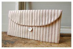 brown clutch purse Geometric Wedding  Clutch Bridal by hoganfe,