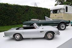 Half scale 1966 Aston Martin DB5 007-replica