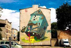 Address: street Nawrot 81, Lodz. Author: ETAM CREW (Poland).
