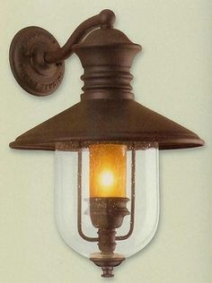 Old Town Lg. Ext. Wall Light