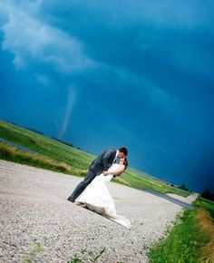 3 Couples Who Didn't Let a Little Crazy Weather Ruin Their Weddings | TheKnot.com