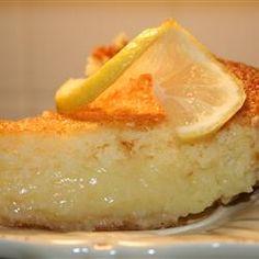 Bill Clinton's Lemon Chess Pie, a Thanksgiving staple for us, passed down from my Grandma Allene.