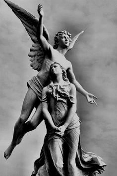 Location and name wanted. Cemetery Angels, Cemetery Art, Greek Statues, Angel Statues, Angel Sculpture, Sculpture Art, Statue Of Liberty Crown, Mary Magdalene And Jesus, Tattoo Bauch