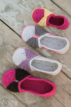Instant Download  Crochet Pattern  The Jess Flats by Mamachee, $5.50  Her entire shop is full of stuff I'm loving