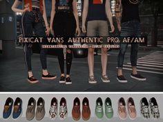 PIXICAT VANS AUTHENTIC PRO AF/AM