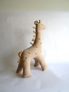 Giraffe organic color grown cotton natural eco by pingvini on Etsy