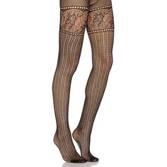 Commando Left Bank Net Tight Accessories ($38) ❤ liked on Polyvore featuring intimates, hosiery, tights, socks/tights, net tights, commando stockings, commando pantyhose, commando hosiery and net stockings