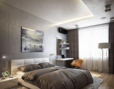 Спальня в современном стиле   Интерьер дома