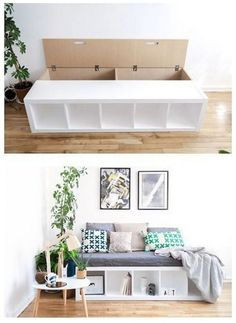 46 Amazing Ikea Hacks to Decorate on a Budget #homedecorideas #decorateonabudget #homedecoration ~ vidur.net