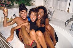 Linda, Christy and Naomi – three supermodels who were all Premier girls