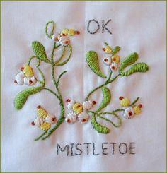 OKLAHOMA--Mistletoe