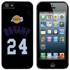 NBA Kobe Bryant Los Angeles Lakers iPhone 5 Jersey Snap-On Case by Football Fanatics. $29.95. One-piece snap-on installation. Lightly textured hard shell construction for comfort and durability. Access to all ports, controls and features. Polycarbonate shell. Kobe Bryant Los Angeles Lakers iPhone 5 Jersey Snap-On CaseOne-piece snap-on installationImportedAccess to all ports, controls and featuresDesigned in the USALightly textured hard shell construction for comfort and durab...
