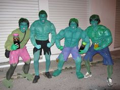 """""""Los Hulk"""".  Sábado, 9 de febrero de 2013."""