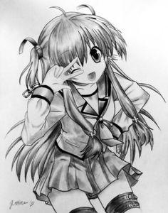 Yui - Angel Beats by ~Chuustine on deviantART