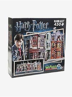 Take a trip down Diagon Alley // Harry Potter Diagon Alley Wrebbit 3d Puzzle
