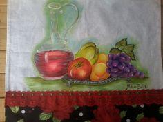 Pintura em tecidos por Alacir Balbi