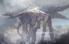 """quarkmaster: """" Phoenix point art This is stuff that I have made the past year. Monsters and mutations from the game Phoenix point - a spiritual ancestor of the original X-com. Working on this title. Alien Creatures, Fantasy Creatures, Mythical Creatures, Dark Fantasy Art, Fantasy Artwork, Alien Concept Art, Creature Concept Art, Fantasy Monster, Monster Art"""
