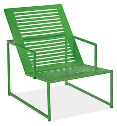 So Ive developed a crush on this Kelly Green... R&B has a this Cruz Collection of outdoor furniture which has stolen my heart... Im safe with the White choices but like I said... wouldn't this GREEN metal look great against the Mahogany?