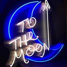 To The Moon Neon Sign Light Home Decor Wedding Custom Neon Rosa, Loona Kim Lip, Neon Words, All Of The Lights, Neon Aesthetic, Badass Aesthetic, Neon Wallpaper, Sign Lighting, A Silent Voice