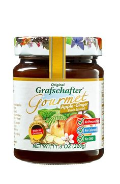 Grafschafter: Gourmet Fruit Spread Apple-Ginger >> Additional details @ : Fresh Groceries