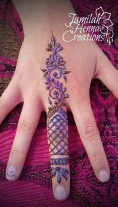 Balloon Fest Henna www. Small Henna Designs, Hena Designs, Finger Henna Designs, Beautiful Henna Designs, Henna Tattoo Designs, Mehndi Designs, Arte Mehndi, Mehndi Art, Henna Mehndi
