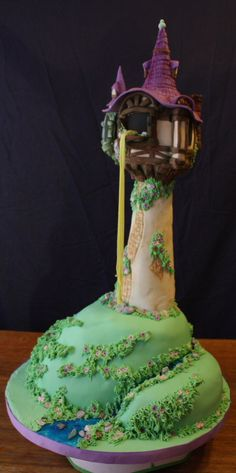 Wow!  I loved the story of Rapunzel when I was a kid and I would have loved to have had this cake!