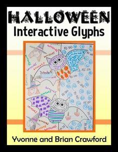 Halloween Interactive Glyphs $