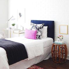 Tween/Teen Girl's Bedroom     via oliveandford   #tweengirl #teengirl #tweenbedroom #teenbedroom #girlsbedroom #tween #teen #bedroom