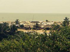 Village in Ghana Ghana, Paris Skyline, Travel, Viajes, Destinations, Traveling, Trips