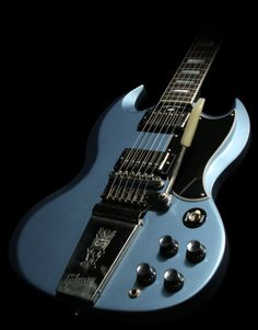 Gibson Custom Shop Elliot Easton SG in Pelham Blue