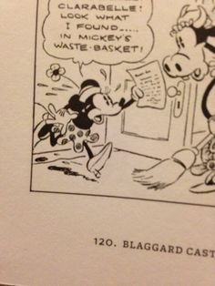 Mickey Mouse comic