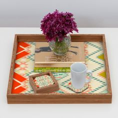 Serve up the Southwest...Pattern State Marker Southwest Coaster Set | DENY Designs Home Accessories